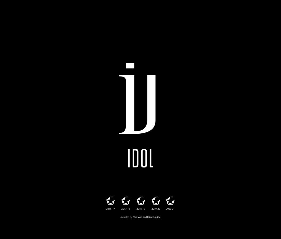 Idol new 9 2560x2177 1 - IDOL Restaurant Logo Design - The Design Boutique -Idol new 9 2560x2177 1